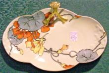 Guerin & Co. Art Deco Limoges Porcelain Tray Signed 1920s-30s 11