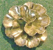 Danecraft Sterling Silver Brooch/Pin Flower 1.75