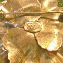 Danecraft Sterling Silver Brooch/Pin Flower 1.75