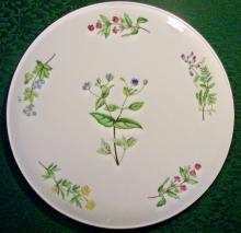 Royal Kent Bone China Cake Plate ROK18 Ca. 1950's+