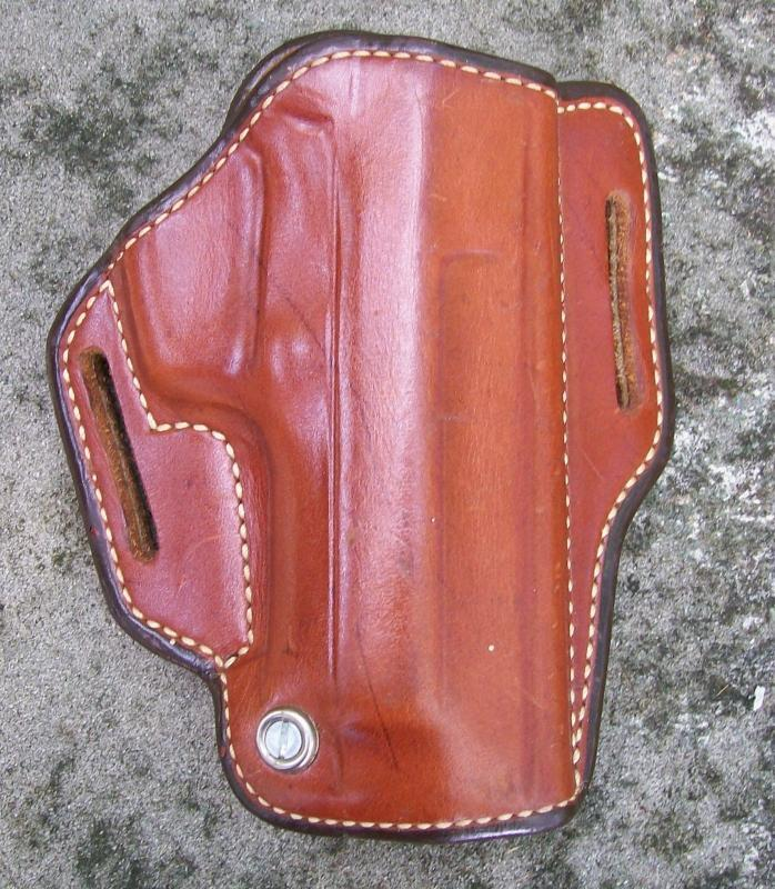Andrews Leather Pistol Holster Saddle Tension 1970's
