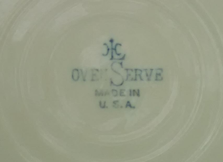 H. Laughlin Oven-Serve Embossed Casserole Bottom