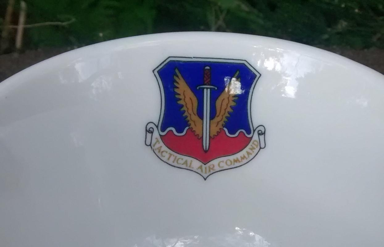 Tactical Air Command Ceramic Cup Syracuse 1963