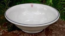 Indiana University Ceramic Serving Bowl 1920s-49 Shenango 10