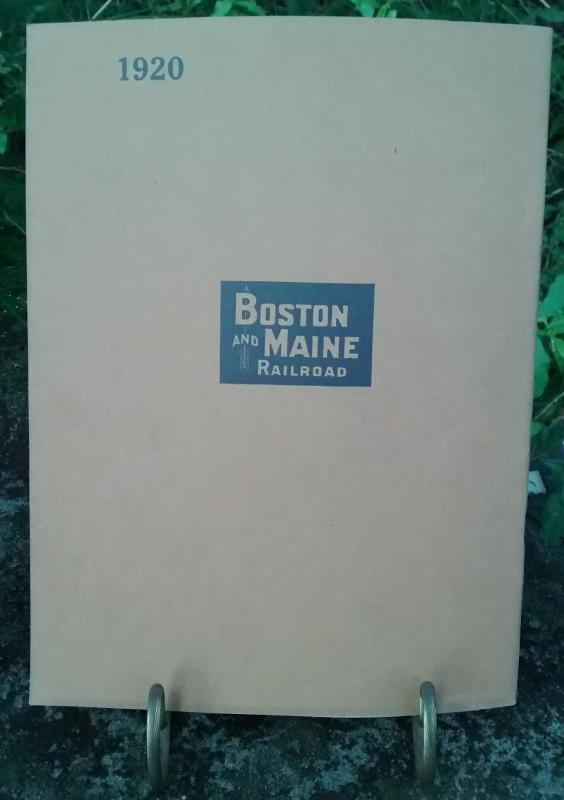 Boston & Maine Railroad Annual Report 88th 1920