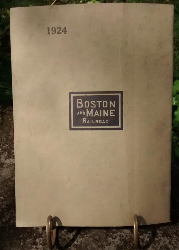 Boston & Maine Railroad Annual Report 92nd 1924