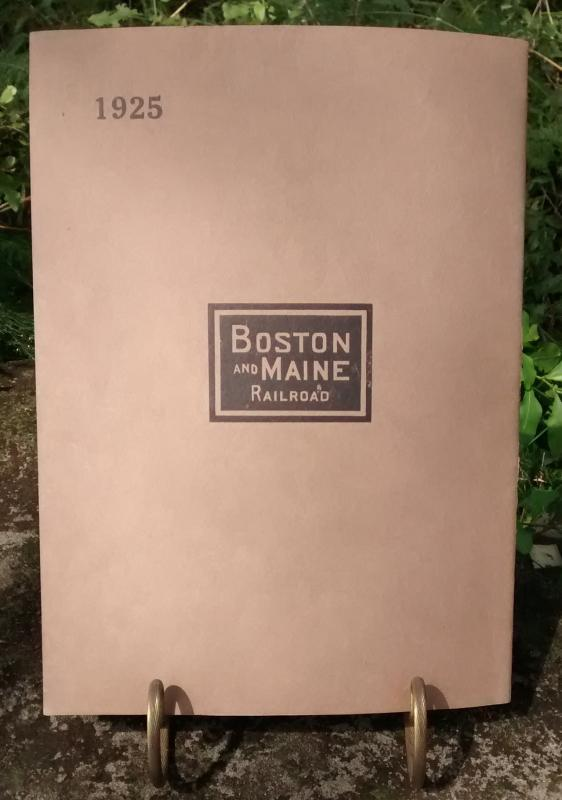 Boston & Maine Railroad Annual Report 93rd 1925