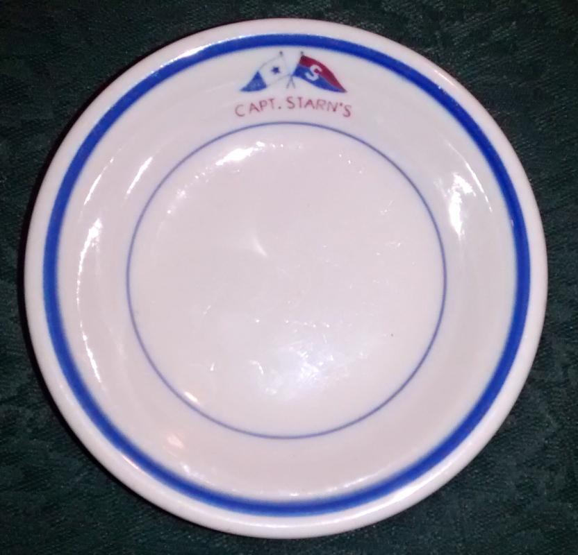 Captain Starn's Restaurant Bowl Atlantic City NJ 1960s-70s
