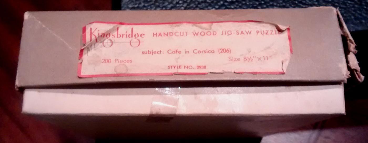 Wood Jigsaw Puzzle w/Box