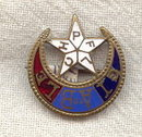 Fraternal Crescent Pin: Shriner's