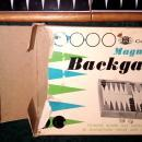 Chadwick Magnetic Backgammon Set Complete 1973 Vintage