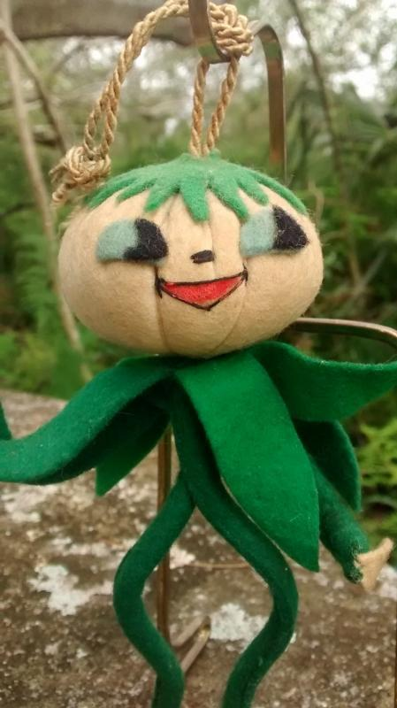 50s Italian Anthropomorphic Doll/Ornament Vegetable Person 6