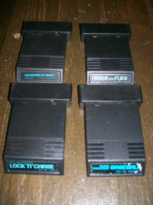 Vintage Atari 2600 Games Set/4: Cartridges Only