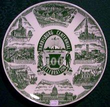Harrisburg, Pennsylvania Centennial Plate