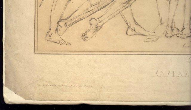Ottley Intaglio Print:  Italian Masters 1812 Rafael