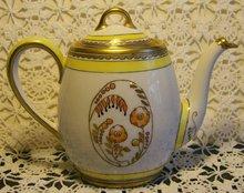 Art Deco Limoges Teapot