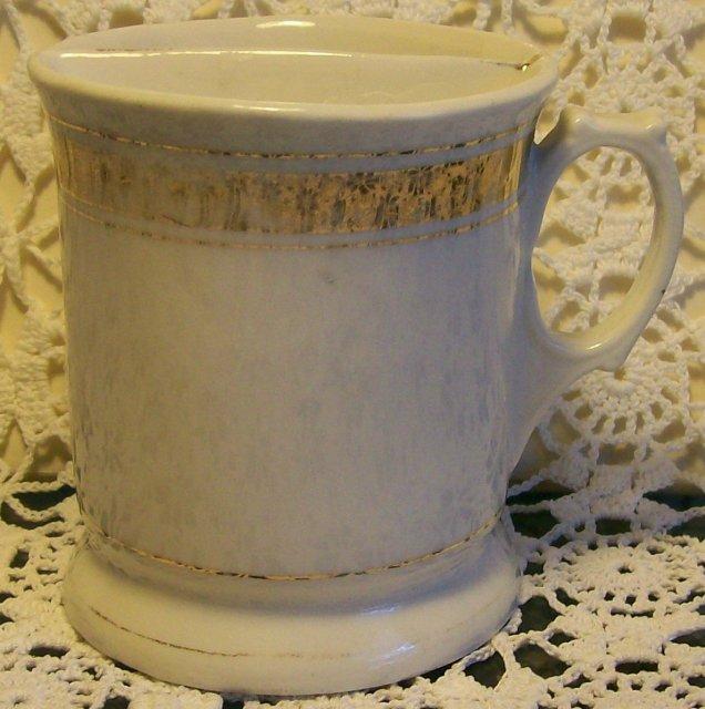 Shaving Mug: Circa 1890's