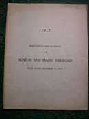 Boston & Maine Railroad Annual Reports