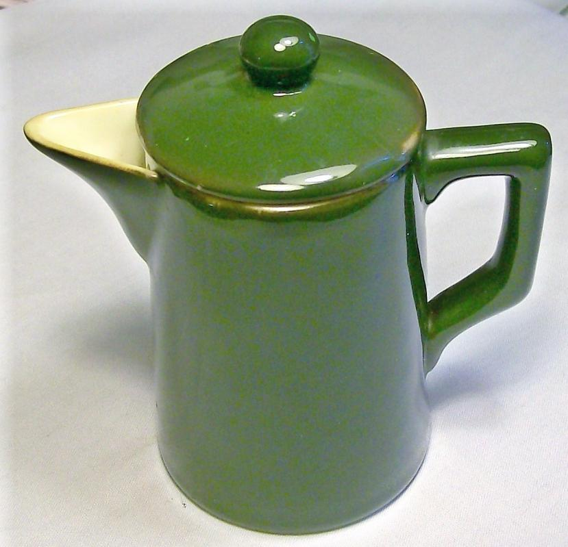 Guernsey Ware Ceramic Teapot Ca. 1904 Cambridge Art Pottery