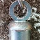 WWI Trench Whistle Horstman Philadelphia US Army Brass w/Chain & Hook