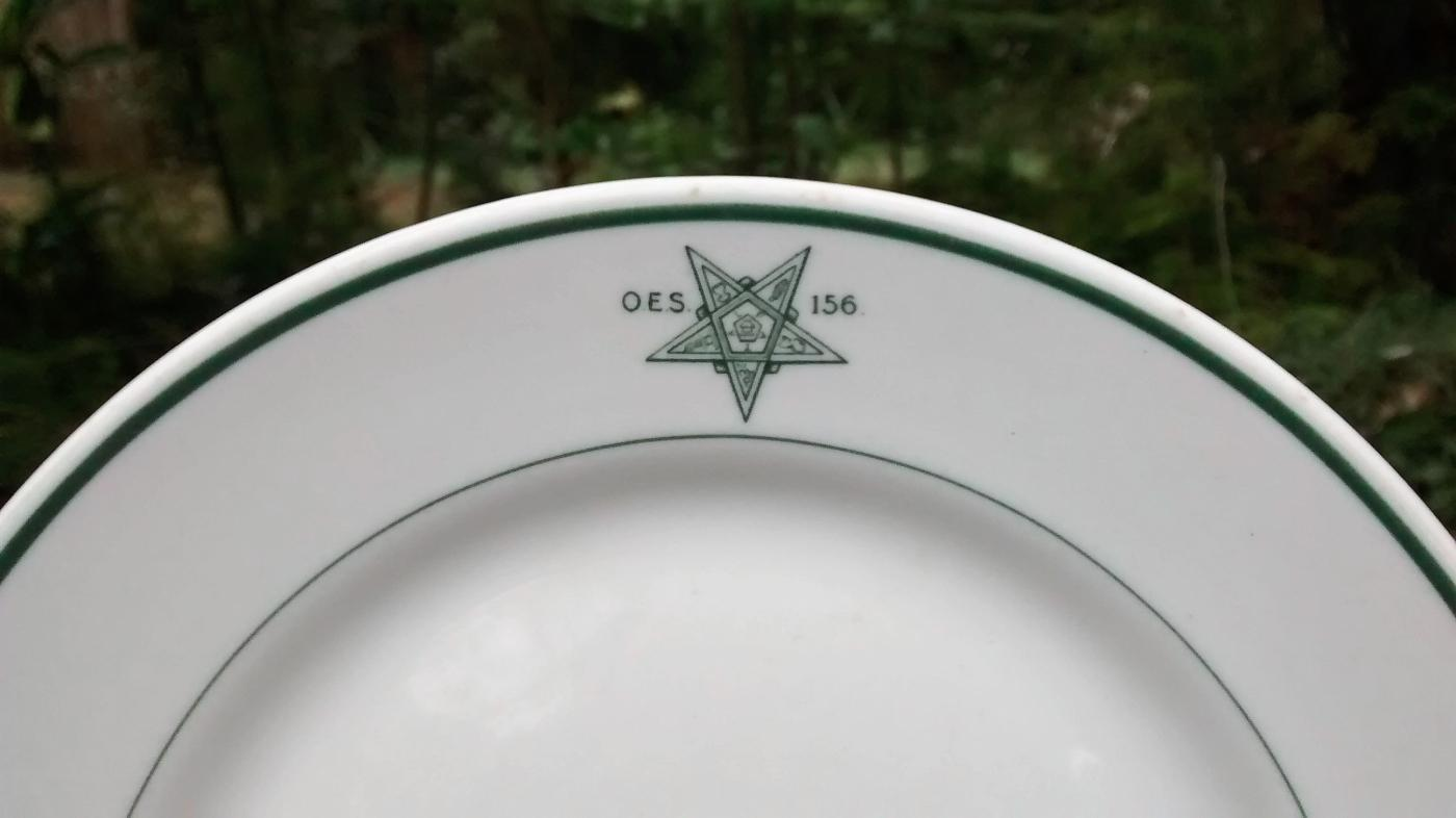 Order of the Eastern Star Plate 9