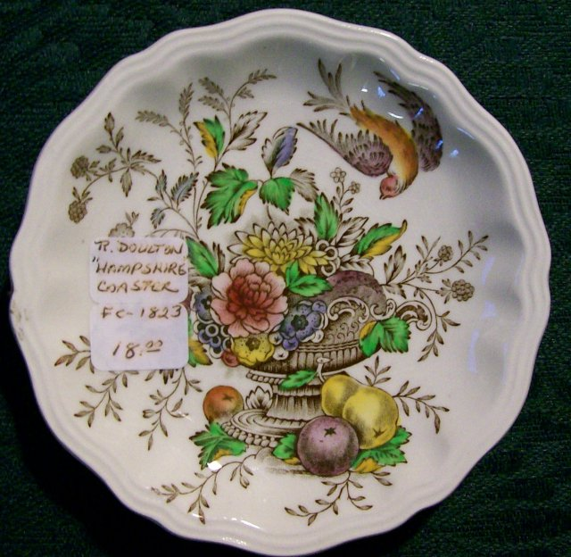 Royal Doulton Hampshire Ceramic Coaster D6141 4