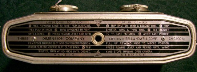 Stereo Colorist Camera by Three Dimension Co. Germany 1954-60