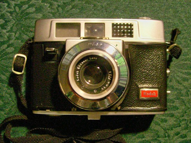 Kodak Automatic Camera 35B with Leather Case 1961-62