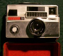 Kodak Instamatic 704 Camera with Metal Case 1965-69