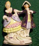 Colonial Couple Figurine by Coventry USA