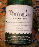 Lamp: Pacemaker Christening Champagne Bottle: 1950's