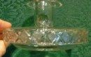 Hawkes Cut Crystal Candleholder