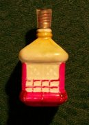 Christmas Figural Colonial Lantern Electric Bulb Ca. 1925