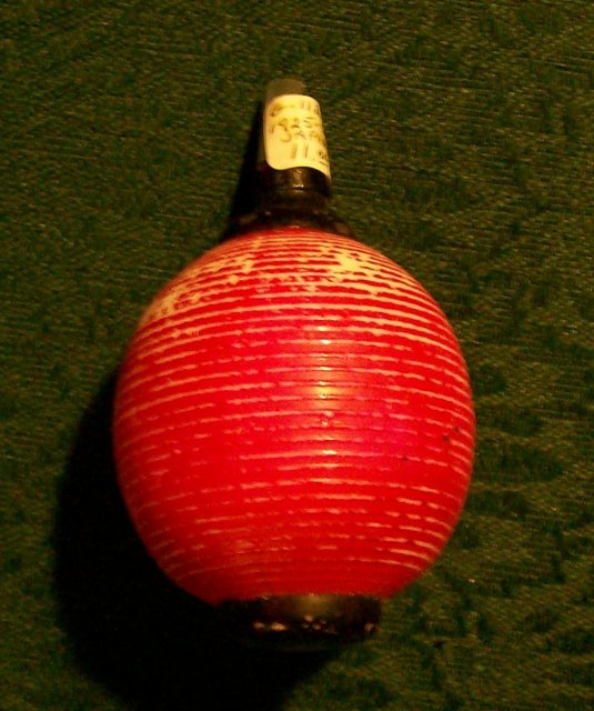 Figural Japanese Lantern Electric Christmas Bulb NOT WORKING