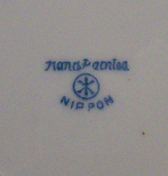 Noritake Nippon Pancake Server: N1261 Gold Encrusted