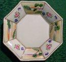 Nippon Handpainted Octagonal Dish