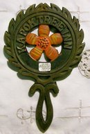 Cast Iron Trivet Advertising Kapok Tree Inn Florida Souvenir