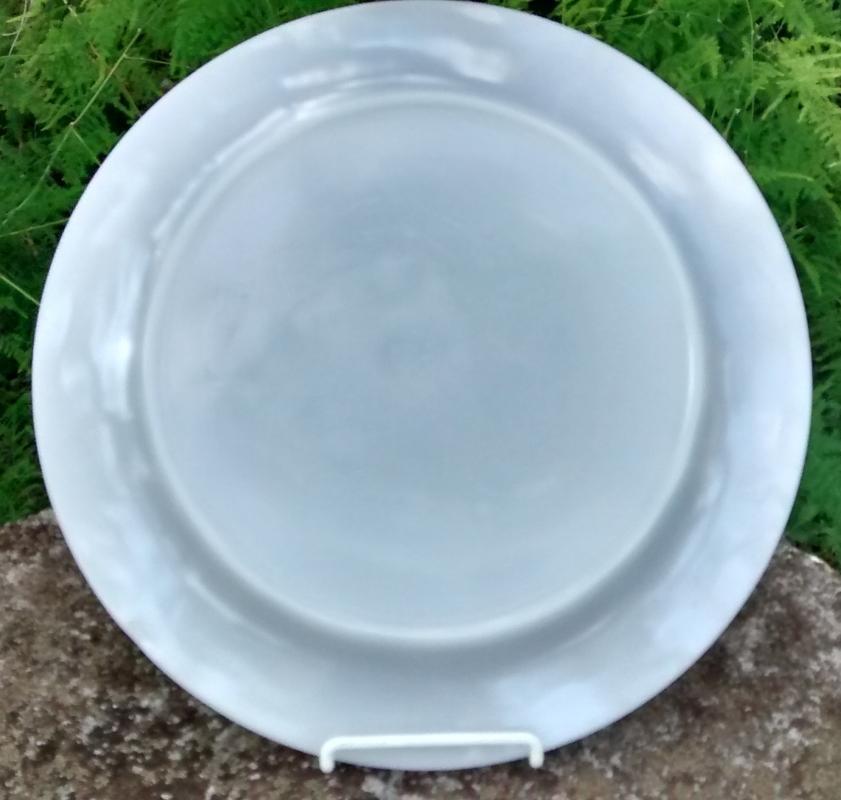 Fire-King Laurel Gray Luster Plate 11