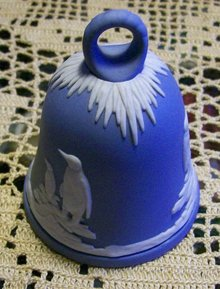 Wedgwood Jasperware Bell: New Years 1979