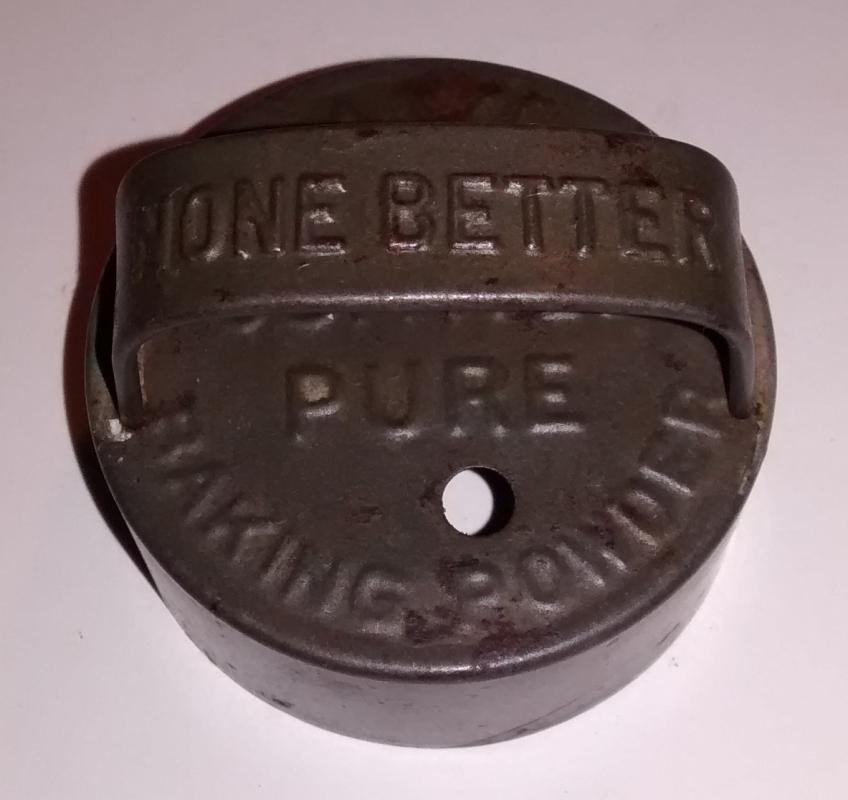 Advertising Biscuit Cutter Davis Baking Powder Early 1900s