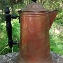 Copper Coffee Pot Revere Ware Early 1900s As Is