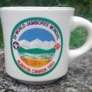 Boy Scout Mug 1983 World Jamboree Alberta Canada Ltd. Ed.