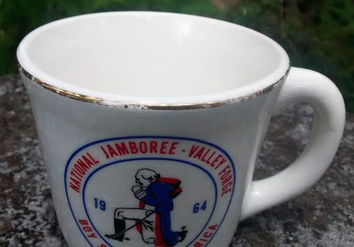 Boy Scout Mug 1964 National Jamboree Valley Forge Pennsylvania