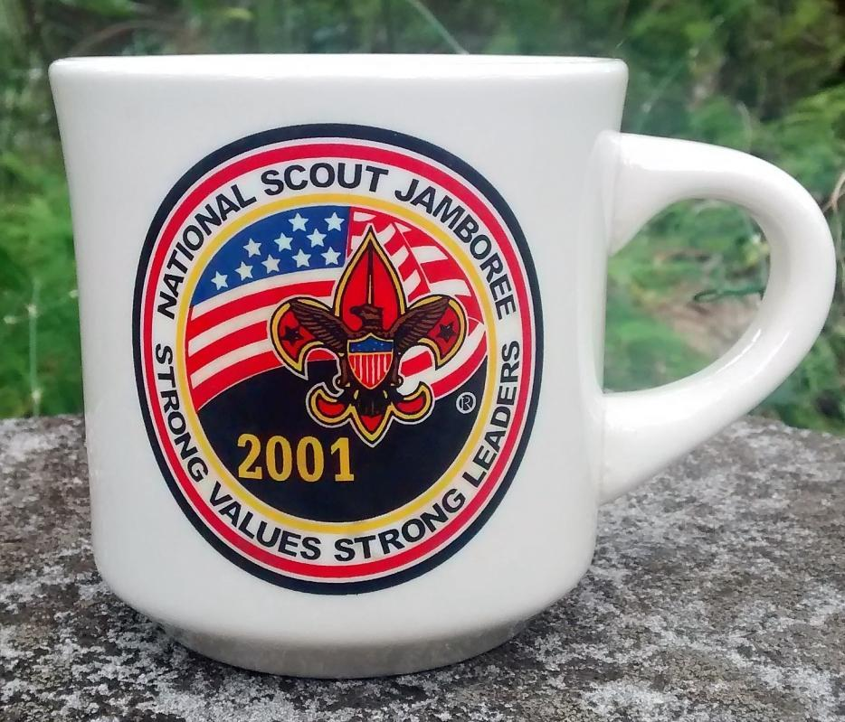 Boy Scout Mug 2001 National Jamboree