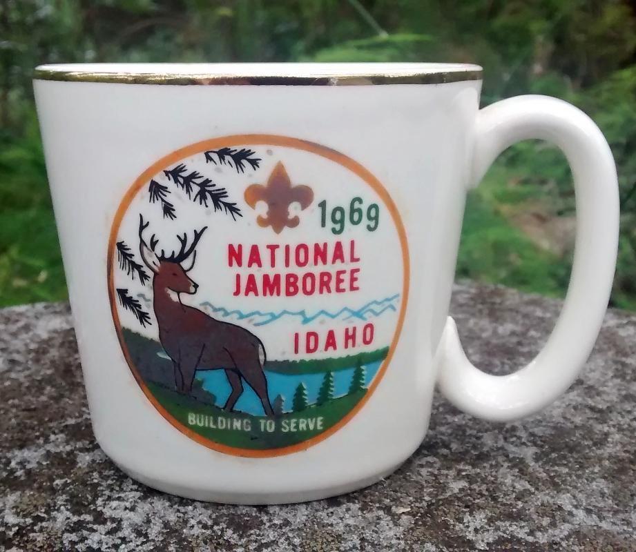 Boy Scout Mug 1969 National Jamboree Idaho McCoy