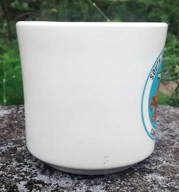 Boy Scout Mug 1970s Camp Sebring South Florida Council