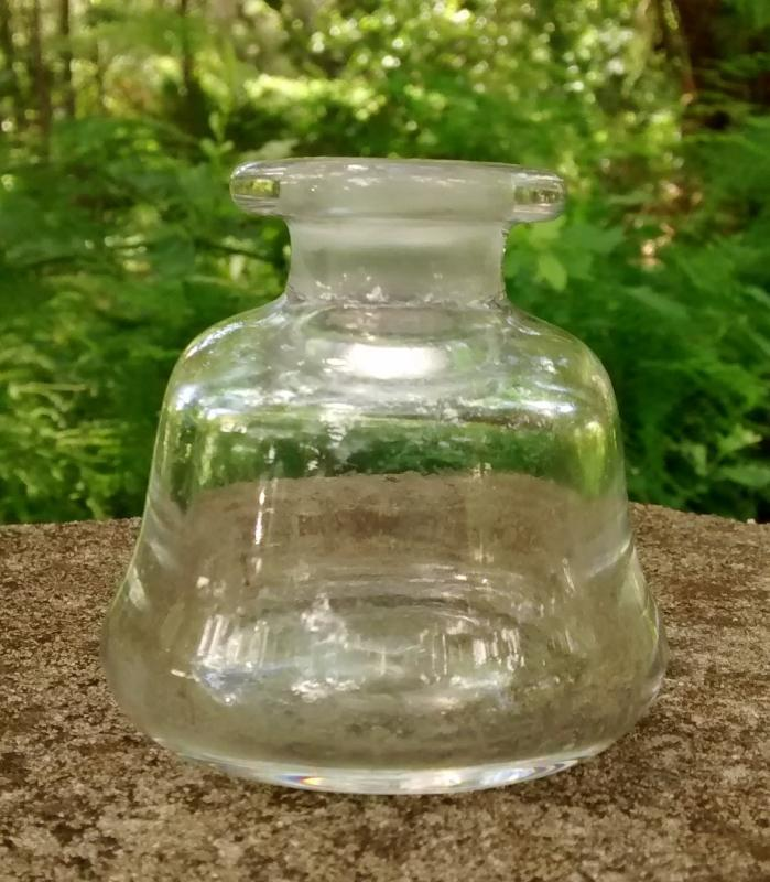 Fostoria Perfume/Cologne Bottle #2243 Blown Glass NO STOPPER