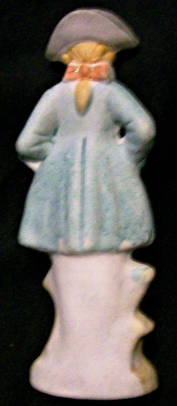 Occupied Japan Bisque Figurine Colonial Man 5
