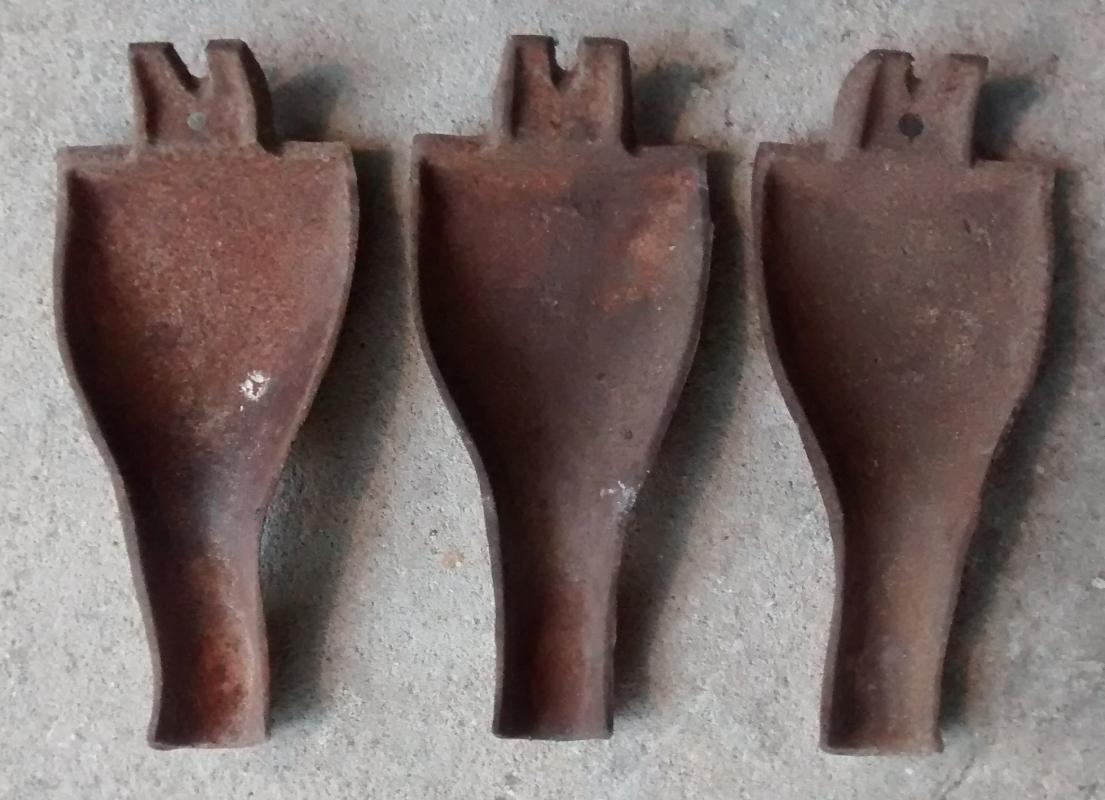 Cast Iron Stove Leg(s) 1800's