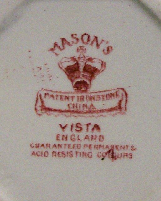 Mason's Pink/Red